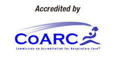 Commission on Accreditation for Respiratory Care logo