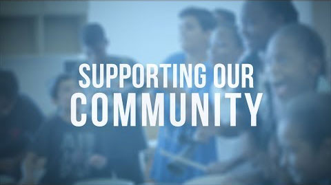 youtube poster for supporting our community video
