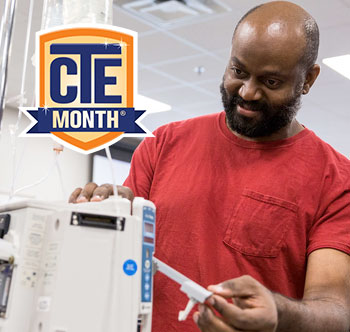 Career and TEch Education Month CTE image